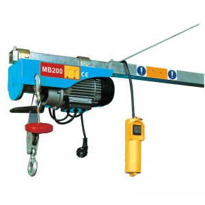 MB200 Mini Electric Hoist, elektrischer Hebelaufzug